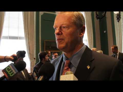 Gov. Charlie Baker on Massachusetts budget: 'They need to get something to our desk'