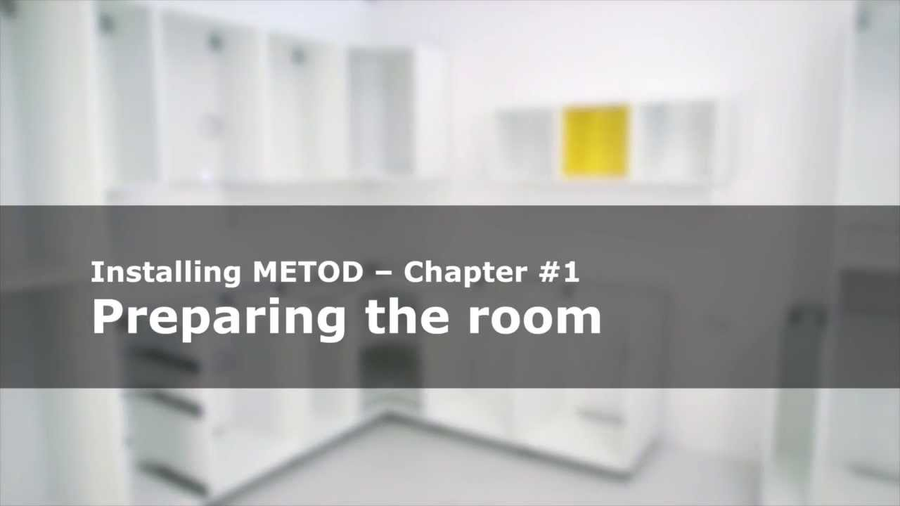 Keukenkast Ophangen Ikea : Metod keuken: klaarmaken van de kamer ikea helpt youtube