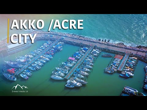 Acre In 4k | Israel World Heritage Site | Akko Old City (2020)