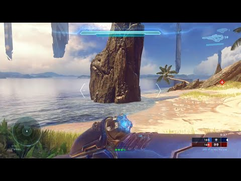 Halo 5 Multiplayer [Part 27] - The Mythical Krispy Kong's Rock Hiding Tactics!