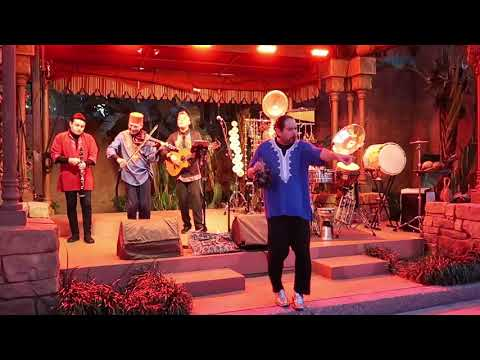 Morocco Pavilion Band During EPCOT Flower and Garden Festival