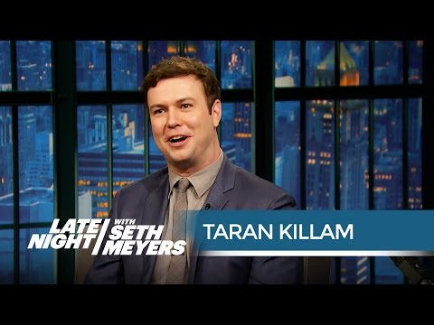 Taran Killam's Worst SNL Injuries  Late Night with Seth Meyers