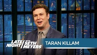 Taran Killam's Worst SNL Injuries - Late Night with Seth Meyers