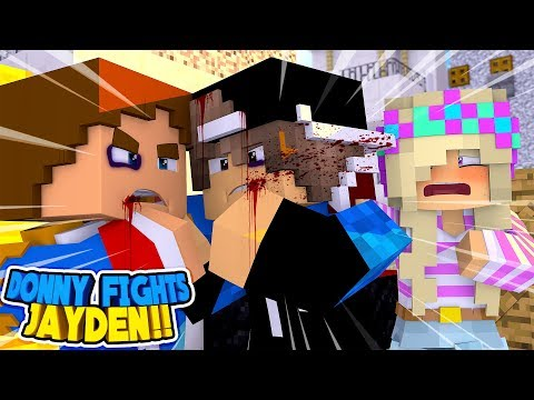 Minecraft: LEAH IS STOOD UP & DONNY FIGHTS HER BOYFRIEND!! Donny & Leah Adventure