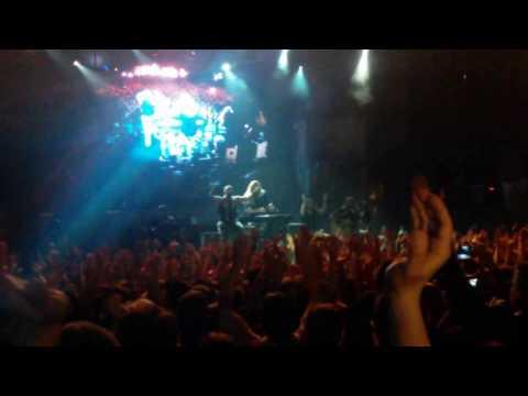 Sabaton live at Pireaus 117 Academy Athens 08/03/2017 Pt1