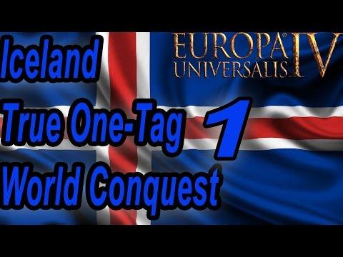 [EU4] Iceland True-1-tag World Conquest part 1