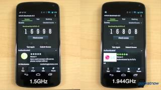 Before and after: an overclocked Nexus 4