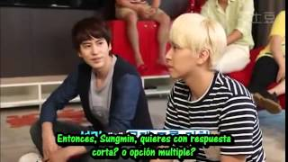 [Sub español] All About Super Junior: Cuestionario Cojín