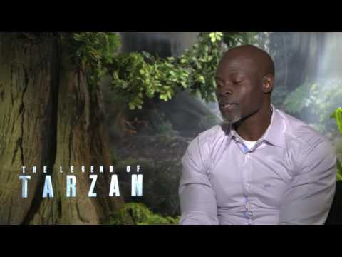 Djimon Hounsou  POWERFUL Interview: 'The Legend of Tarzan'!