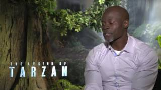 Djimon Hounsou  POWERFUL Interview: 'The Legend of Tarzan'!