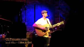 Jared Allan live from Off The Record with Jeff Hahne - I Met A Girl