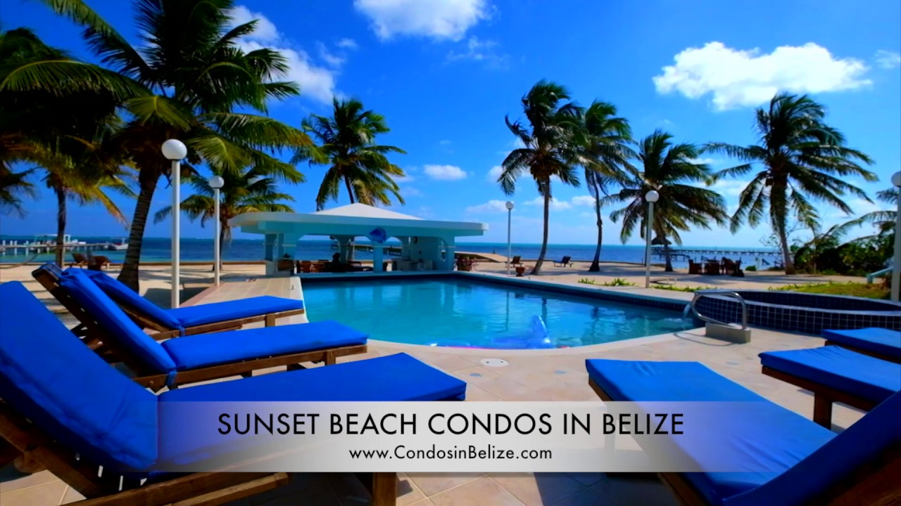 Sunset Beach Condos In Belize Ambergris Caye Belize