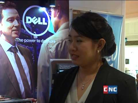 Dell and ICE at Cambodia banking event