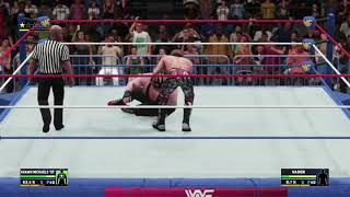 Shawn Michaels vs Vader clip (WWE 2K18)