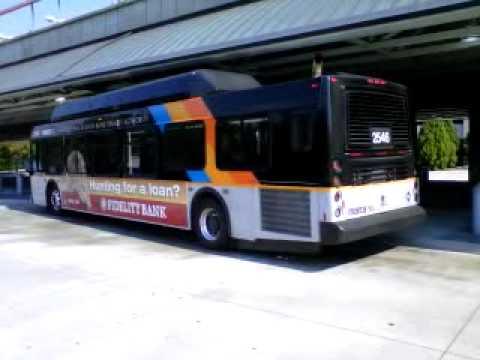 MARTA NEW FLYER C40LFR Bus# 2546 Rt 140 WINDWARD PARKWAY