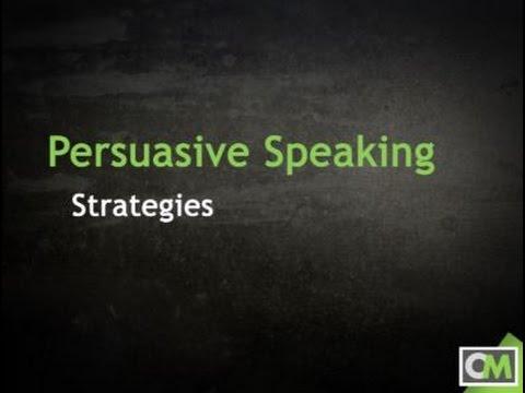 Persuasive Speaking Strategies YouTube