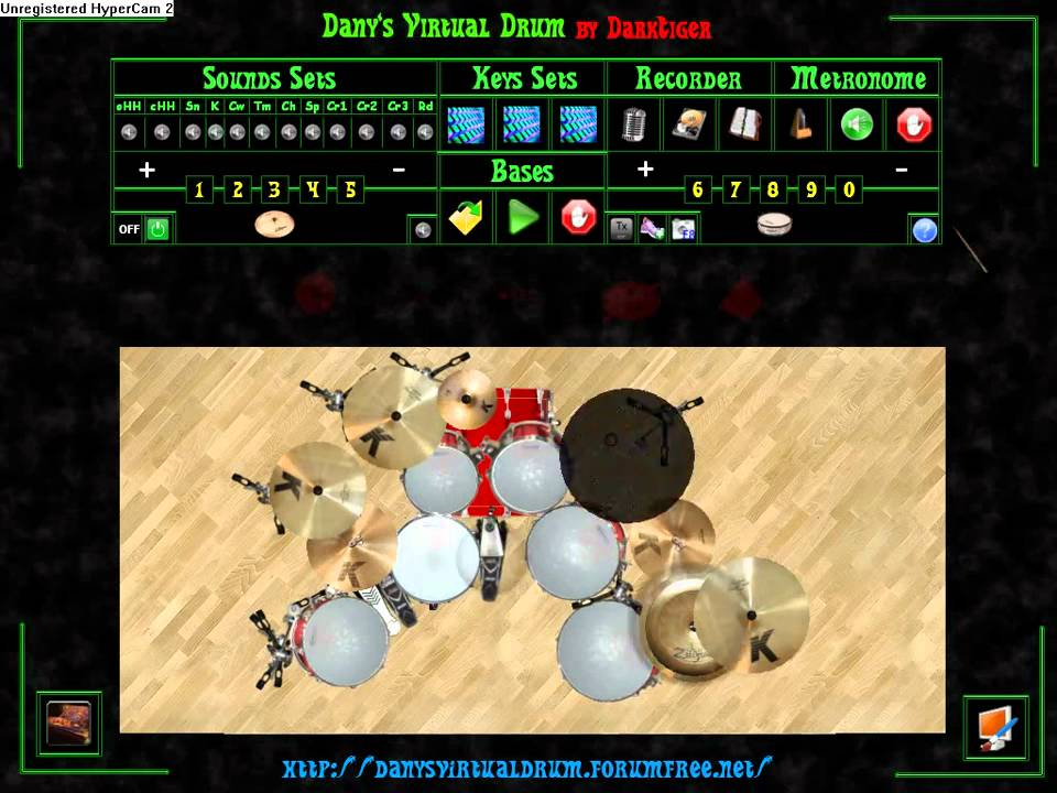 danys virtual drum 2.0 beta 4 free download