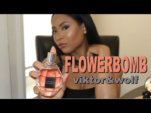 FLOWERBOMB Review (VavaCouture Perfume Collection /Fragrance Mini-Reviews 2016)