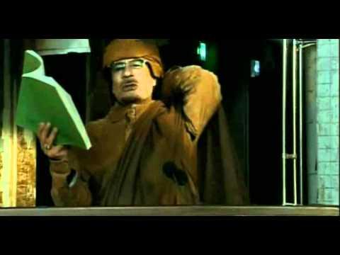 Muammar Gaddafi's speech  خطاب معمر القذافي عبدالسلام ابو منيار