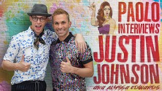 "Justin Johnson (AKA Alyssa Edwards) talks Netflix's ""Dancing Queen""!"