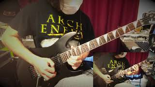 archenemy #therace #guitar #cover arch enemyのThe Race弾かさしてい...