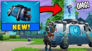 *NEW* Reboot Van in Fortnite! (Respawn Teamates!)