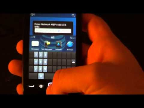 How to unlock Blackberry Torch 9850 9860 AT&T Verizon T-mobile Rogers