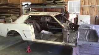 1965 mustang restoration part 2