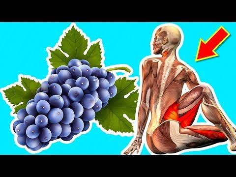 Вот что сделают с вашим телом всего 200 гр. Винограда