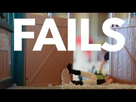 Funny Bloopers - Schleich Horse Filming Fails