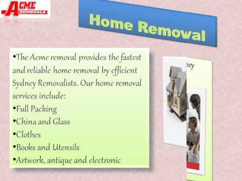 Home and office Removals services in Sydney
