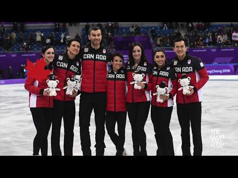 Canada wins first gold medal of the Winter Olympics