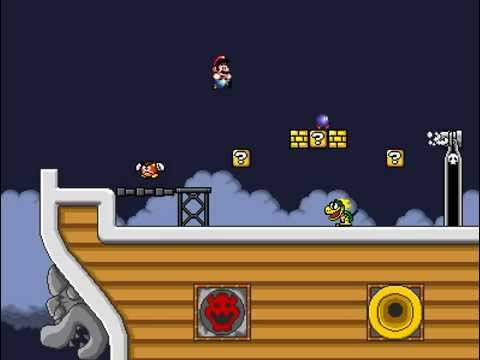Super Mario Bros 3 Airship Theme Sega Genesis Edition Slightly Edited Youtube