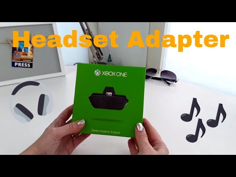 Xbox One Stereo Headset Adapter Works BRILL! Review