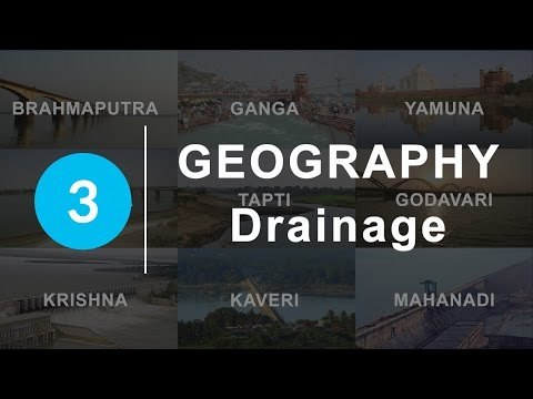 Drainage - Chapter 3 Geography NCERT class 9
