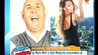 La Mole Moli y Coki Ramírez convocados al bailando 2015