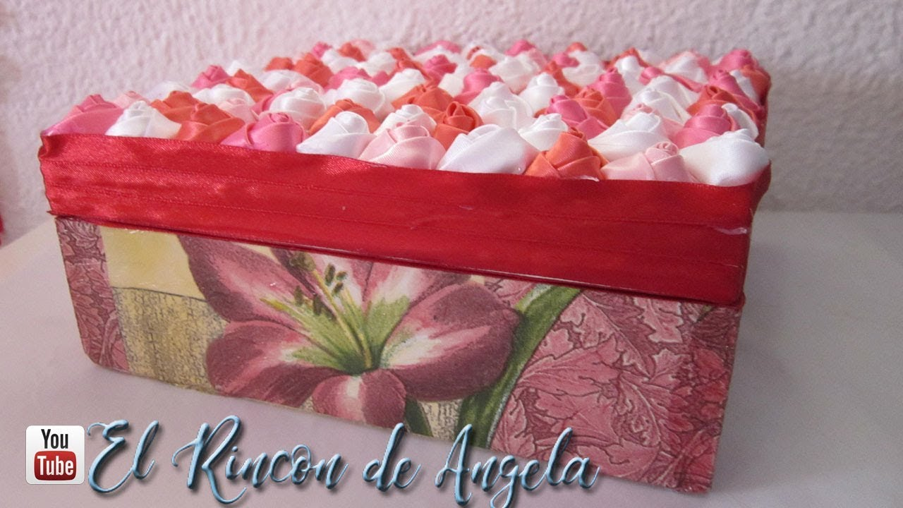 Diy como decorar una caja para regalar san valentin dia de - Decorar para san valentin ...