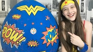 OVO GIGANTE DA MULHER MARAVILHA (Wonder Woman) - Julia Silva