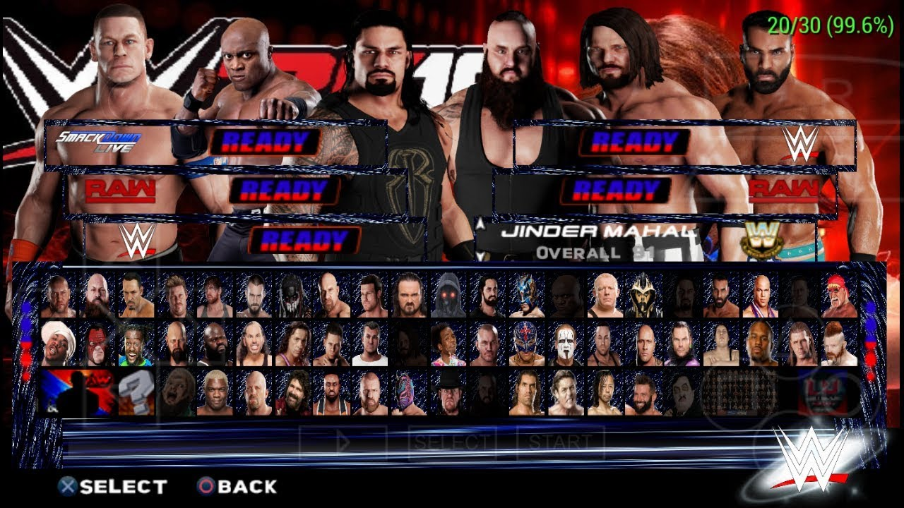 277mb Released Wwe 2k19 Psp New Patch Mod For Svr 11 Download Youtube