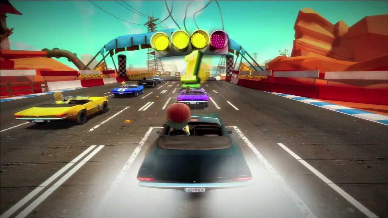 Joy Ride Turbo (XBLA) Gameplay - YouTube