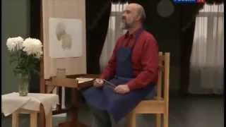 Уроки рисования с Сергеем Андриякой  Хризантемы
