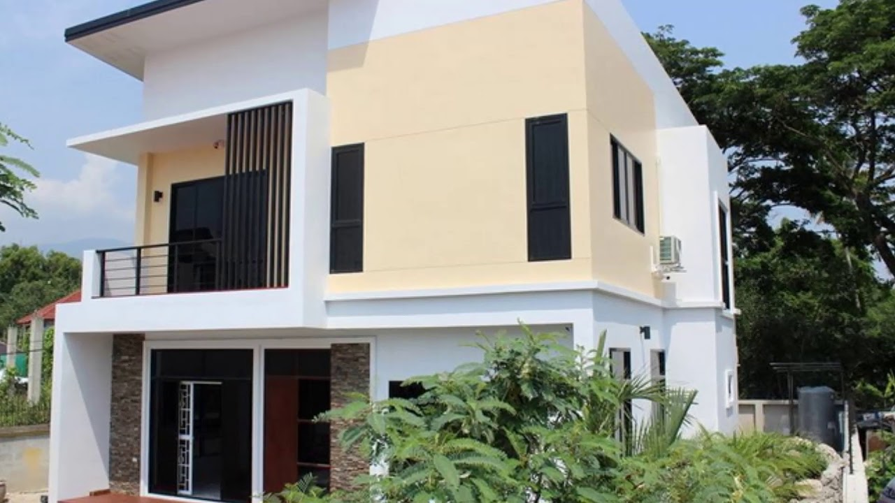 Four Simple Two Story House Designs Beautiful Interior & Exterior ...