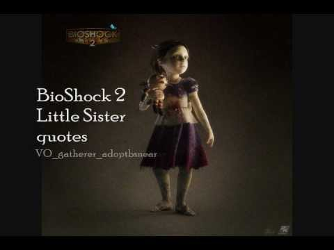 Little Sister quotes in BioShock 2 - Part 1