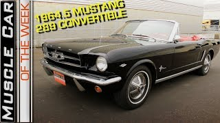 1965 Ford Mustang 289 Convertible Video: Muscle Car Of The Week Episode 257 V8TV