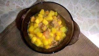 Картофель с тушенкой//Ужин на скорую руку