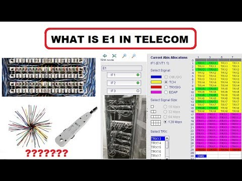 What Is E1 In Telecom