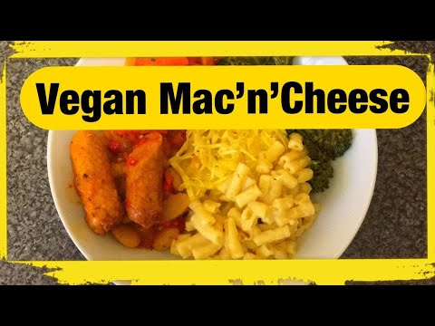HOW TO MAKE VEGAN MAC'N'CHEESE . (NO DAIRY)