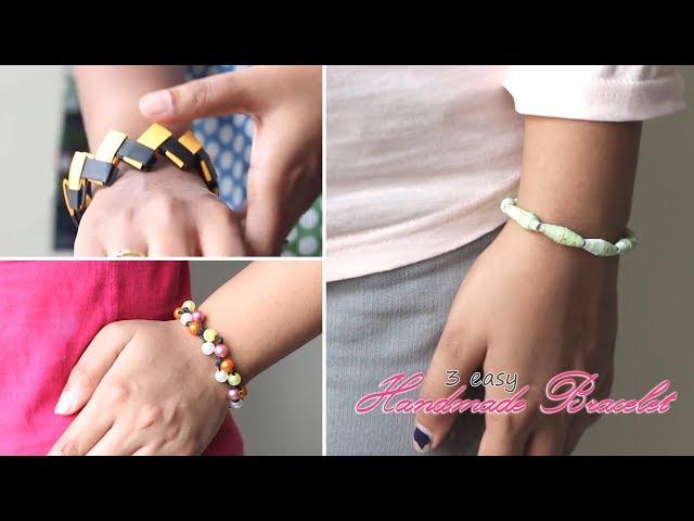 3 Easy Handmade Bracelets