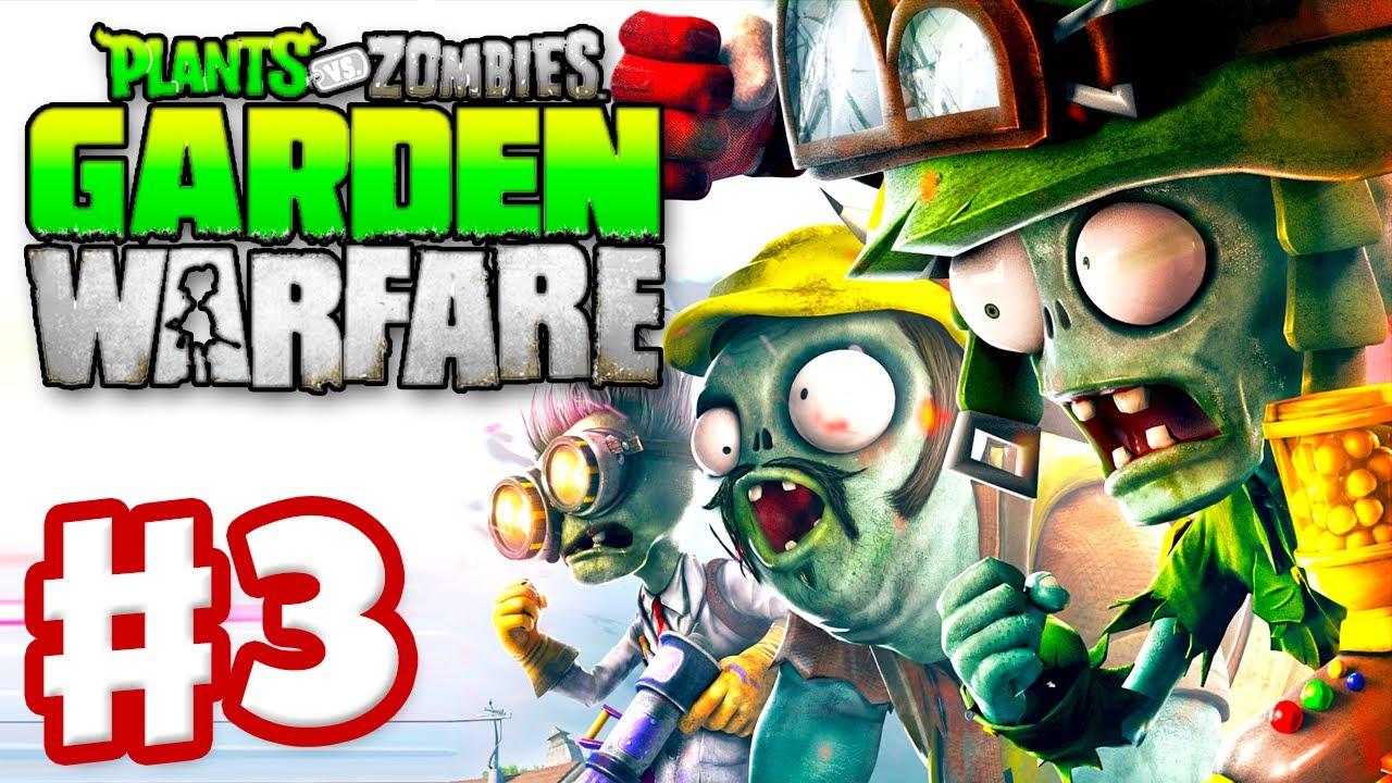 plants vs zombies garden warfare gameplay walkthrough part 3 gardens and graveyards xbox one - Pvz Garden Warfare 3
