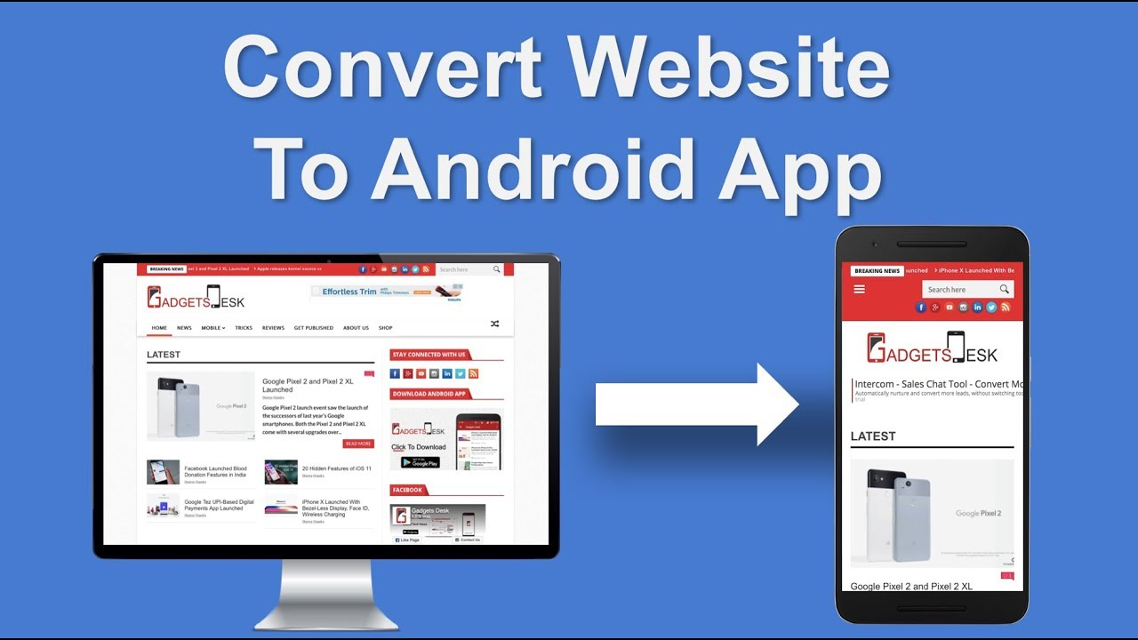 Convert Website To Android In 3 Minutes You